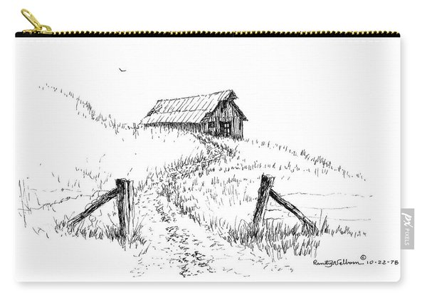 Up The Hill To The Old Barn Carry-all Pouch