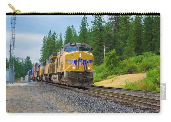 Carry-all Pouch featuring the photograph Up5698 by Jim Thompson