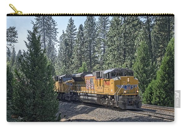 Carry-all Pouch featuring the photograph Up8968 by Jim Thompson