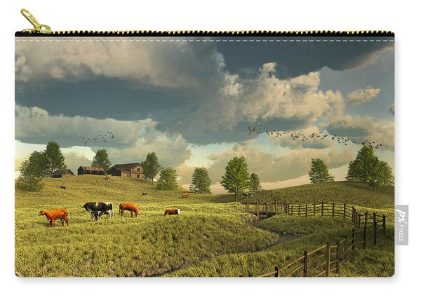 Upon The Rural Seas Carry-all Pouch
