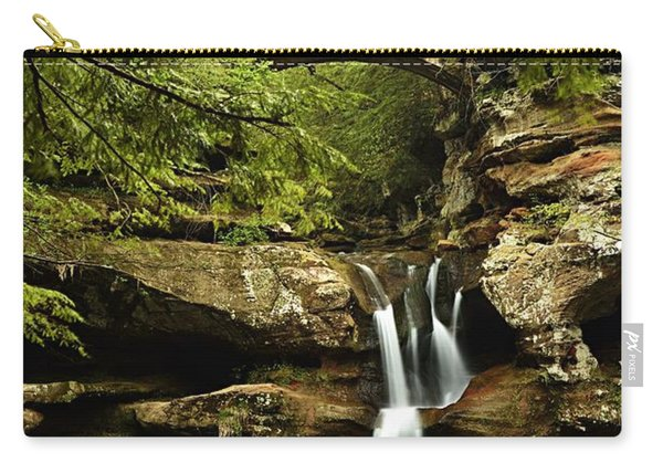 Upper Falls, Hocking Hills State Park Carry-all Pouch