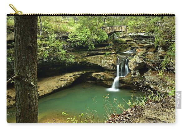 Upper Falls, Hocking Hills State Park 2 Carry-all Pouch