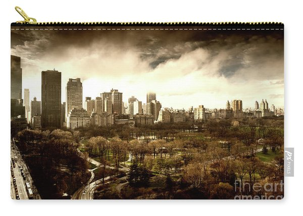 Upper West Side Of New York City Carry-all Pouch