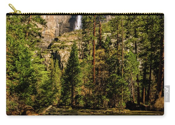 Upper Yosemite Falls From Yosemite Creek Carry-all Pouch