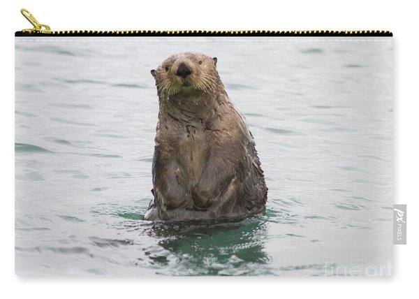 Upright Sea Otter Carry-all Pouch