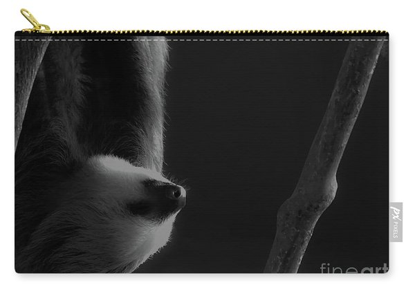 Upside Down Sloth Carry-all Pouch