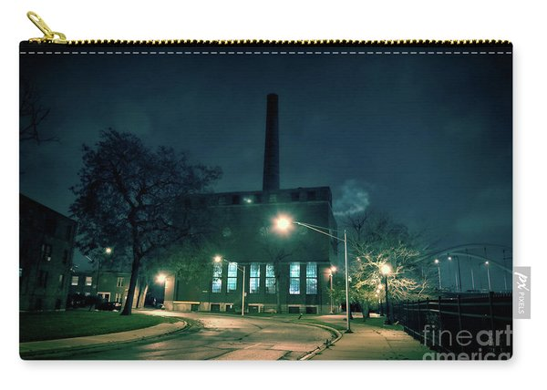 Chicago Urban Industrial Night Scenery Carry-all Pouch