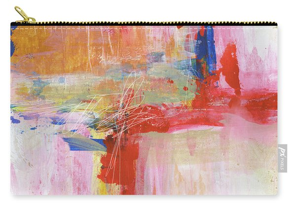 Urban Picnic-abstract Art By Linda Woods Carry-all Pouch