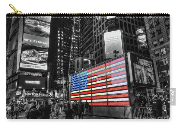 U.s. Armed Forces Times Square Recruiting Station Carry-all Pouch
