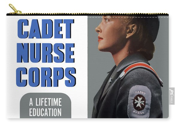 Us Cadet Nurse Corps - Ww2 Carry-all Pouch