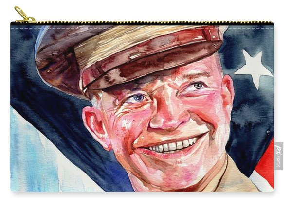 Us General Dwight D. Eisenhower Carry-all Pouch