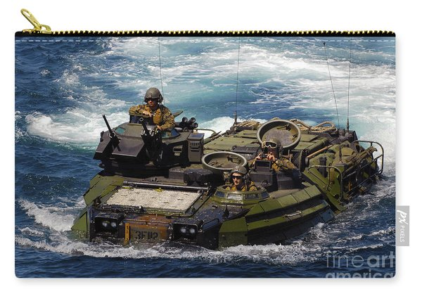 U.s. Marines Transit The Open Water Carry-all Pouch