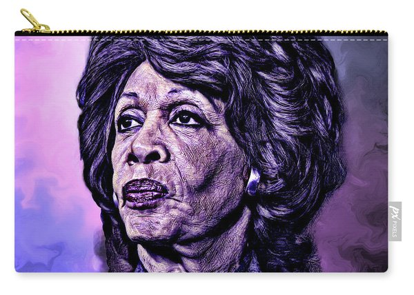 Us Representative Maxine Water Carry-all Pouch