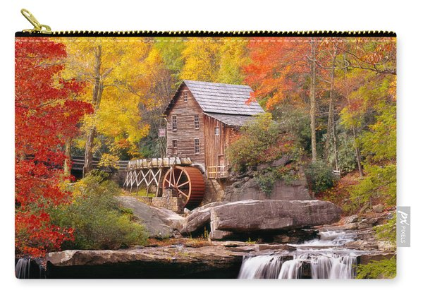 Usa, West Virginia, Glade Creek Grist Carry-all Pouch