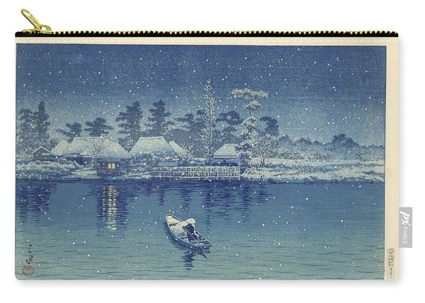 Ushibori, Kawase Hasui, 1930 Carry-all Pouch