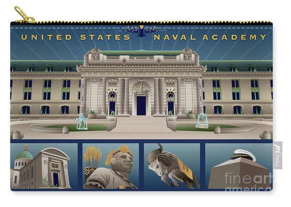 Usna Monuments Tribute 2 Carry-all Pouch