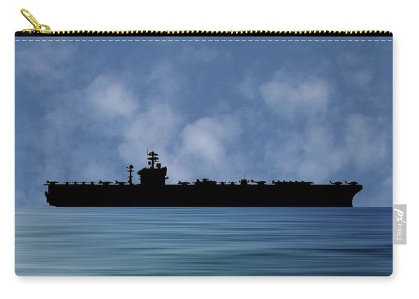 Uss Abraham Lincoln 1988 V1 Carry-all Pouch