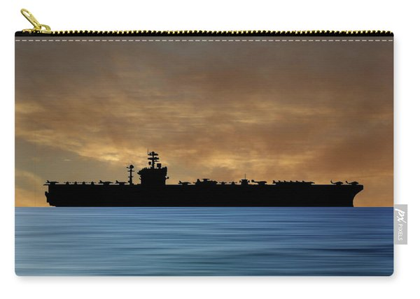 Uss Abraham Lincoln 1988 V2 Carry-all Pouch