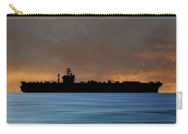 Uss Abraham Lincoln 1988 V3 Carry-all Pouch
