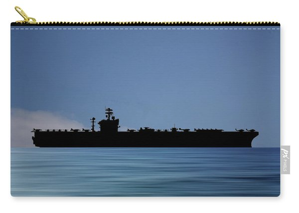 Uss Abraham Lincoln 1988 V4 Carry-all Pouch