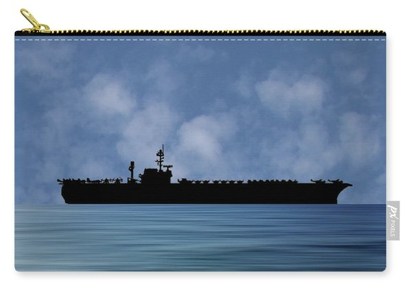 Uss Constellation 1956 V1 Carry-all Pouch