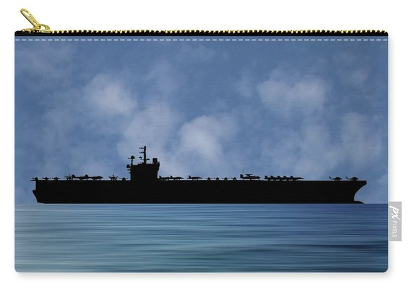 Uss George H.w. Bush 2009 V1 Carry-all Pouch