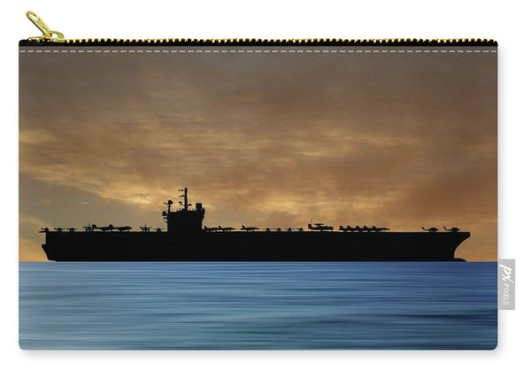 Uss George H.w. Bush 2009 V2 Carry-all Pouch