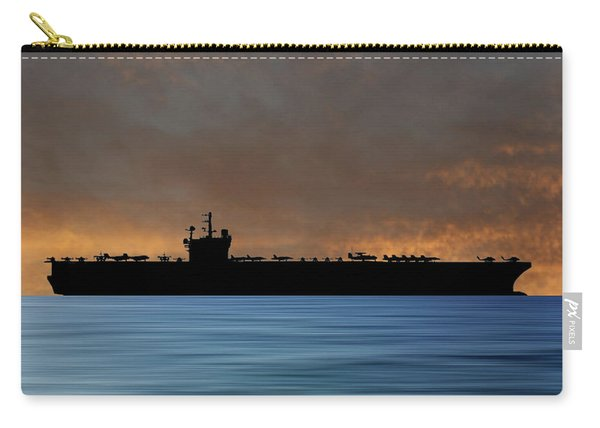 Uss George H.w. Bush 2009 V3 Carry-all Pouch