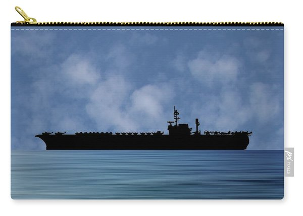Uss Kitty Hawk 1955 V1 Carry-all Pouch