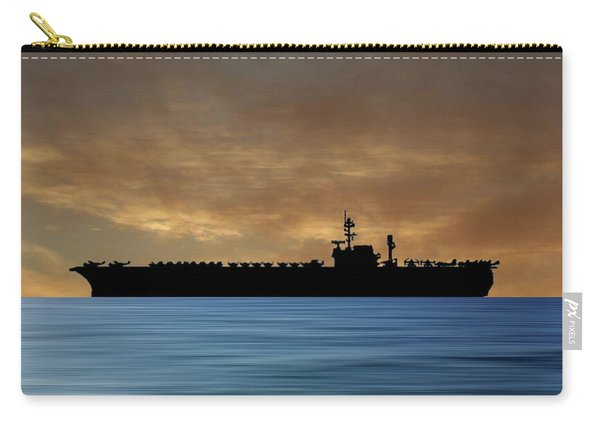 Uss Kitty Hawk 1955 V2 Carry-all Pouch
