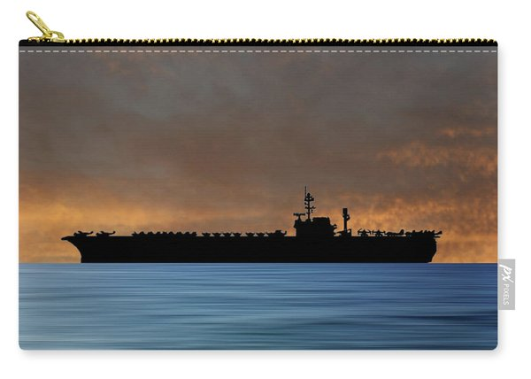 Uss Kitty Hawk 1955 V3 Carry-all Pouch