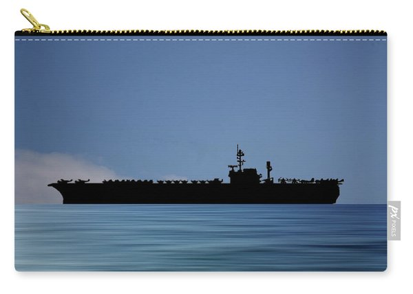 Uss Kitty Hawk 1955 V4 Carry-all Pouch