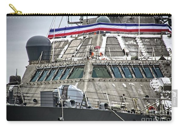 Uss Little Rock Lcs 9 Carry-all Pouch