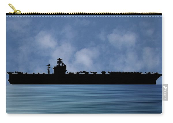 Uss Nimitz 1975 V1 Carry-all Pouch