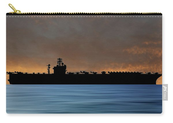 Uss Nimitz 1975 V3 Carry-all Pouch