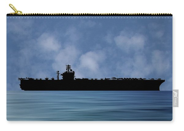 Uss Theodore Roosevelt 1986 V1 Carry-all Pouch
