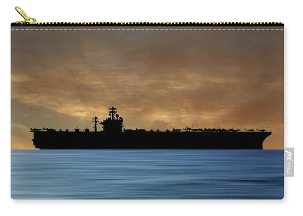 Uss Theodore Roosevelt 1986 V2 Carry-all Pouch