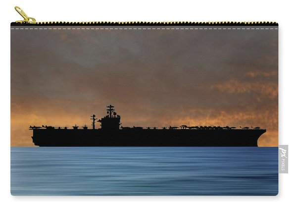 Uss Theodore Roosevelt 1986 V3 Carry-all Pouch