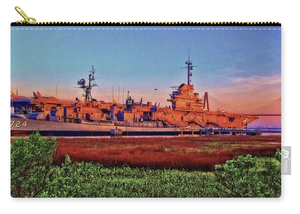 Uss York Town Carry-all Pouch