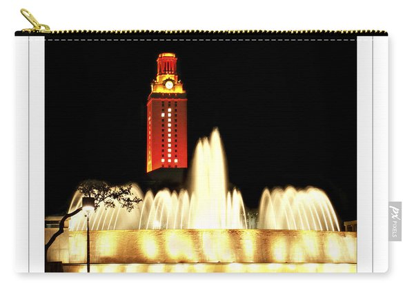 Ut Tower Poster Carry-all Pouch