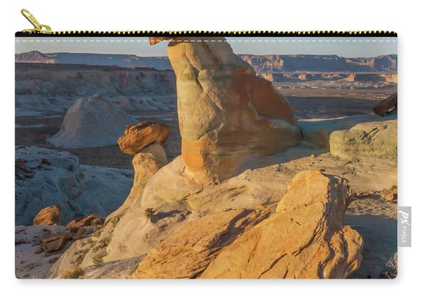 Utah Hoodoos At Sunset Carry-all Pouch