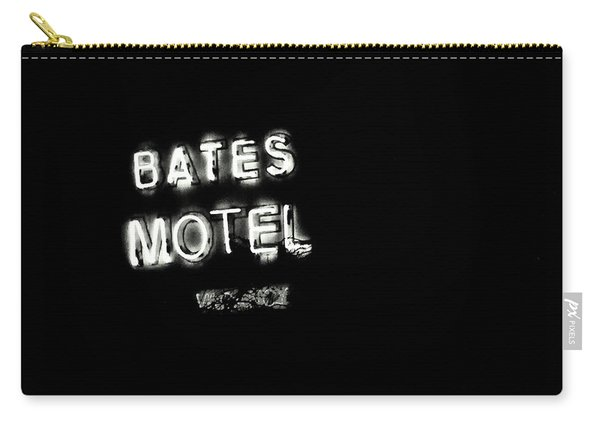 Vacancy At Bates Motel Bw Carry-all Pouch
