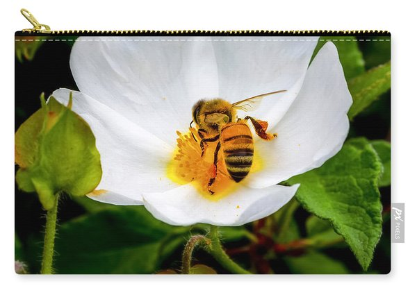 Vacaville Honey Bee Carry-all Pouch