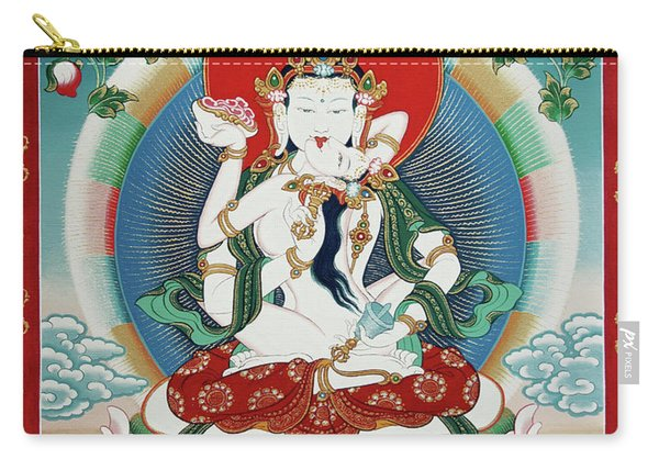 Vajrasattva Yuganadha  Carry-all Pouch