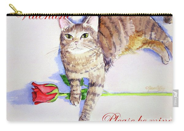 Valentine Mocha 1 Carry-all Pouch
