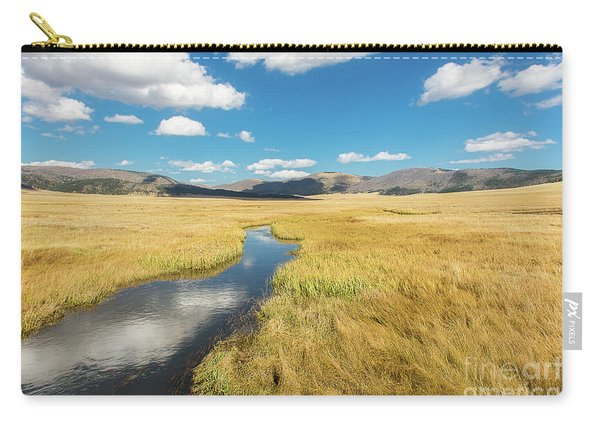Carry-all Pouch featuring the photograph Valles Caldera by Susan Warren