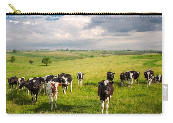 Valley Of The Cows Carry-all Pouch