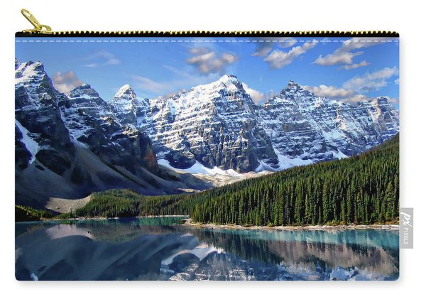 Valley Of The Ten Peaks Carry-all Pouch