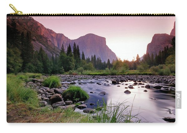 Valley View Sunrise Carry-all Pouch