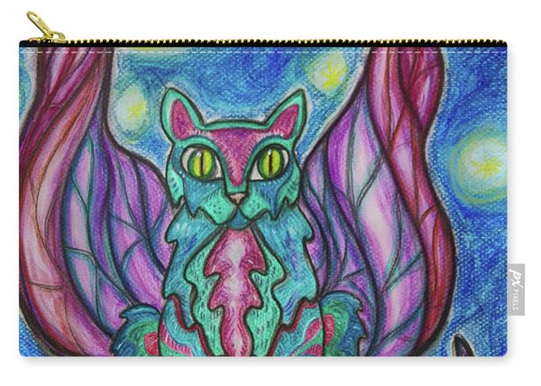 Vampy Kitty Carry-all Pouch